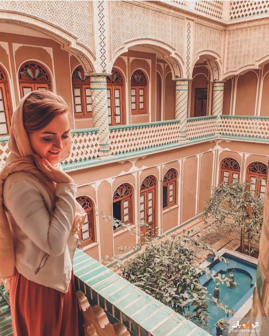 تصاویری از سفر مهماندار زن انگلیسی به ایران
