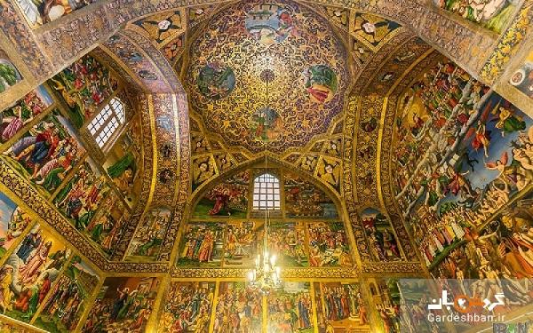 کلیساهای جلفای اصفهان؛ یادگار ارمنیان در دوران صفویه/عکس