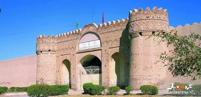 قلعه ناصری در ایرانشهر /عکس