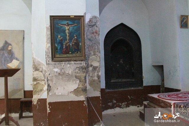 کلیسا هفتوان؛ یادگاری از دوره صفوی + تصاویر