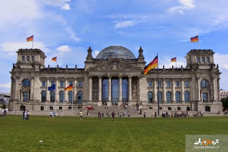 ساختمان رایشتاگ برلین؛قلب حکومت آلمان/عکس